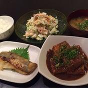 【晩ごはん2日分☆焼き魚&ラーメン!】
