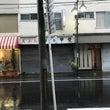 台風襲来です(`・人…