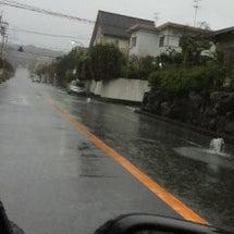 台風 和泉市でも雨が…