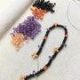 黒、紫、オレンジ