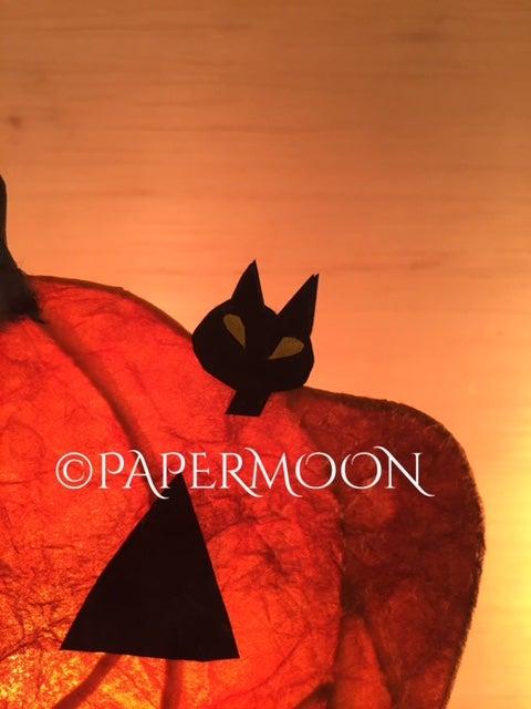 手作りライト教室 PAPERMOON東京 カボチャライト