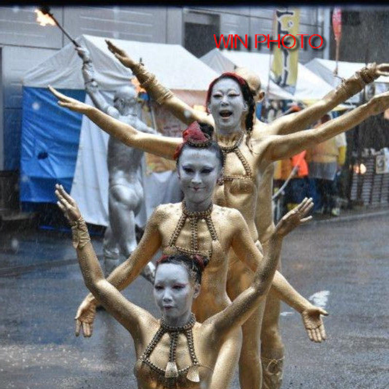 祭り 金粉
