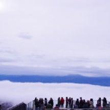 話題のソラテラスで雲…