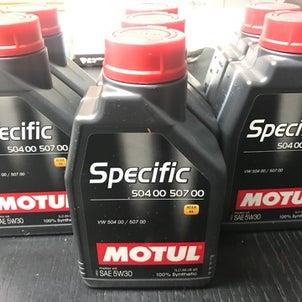 【MOTUL SPECIFIC 504 00 507 00 5W30 エンジンオイルの画像
