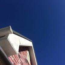起きたら真っ青な空