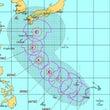 超大型台風が2週連続…