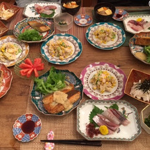 本日の夕飯ですよ(^…