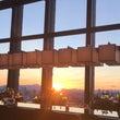 富士山と夕陽@アマン…