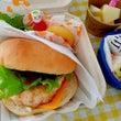 ハンバーガーお弁当♡