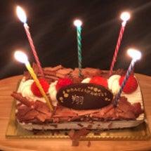 長男の誕生日会