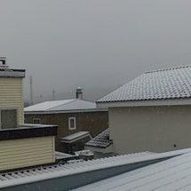 初雪からの秋晴れ~♪