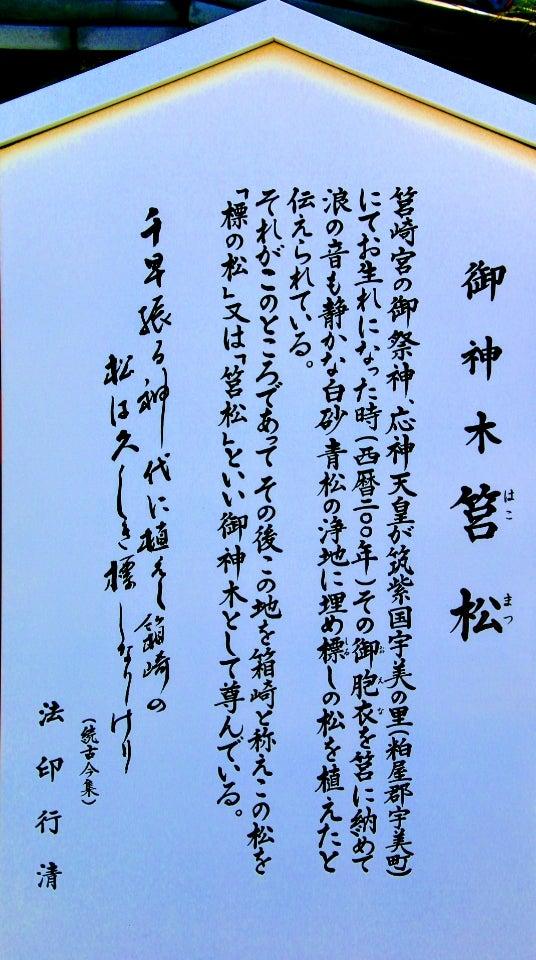【福岡】日本三大八幡「筥崎宮」のステキな新作【御朱印帳】&【御朱印】