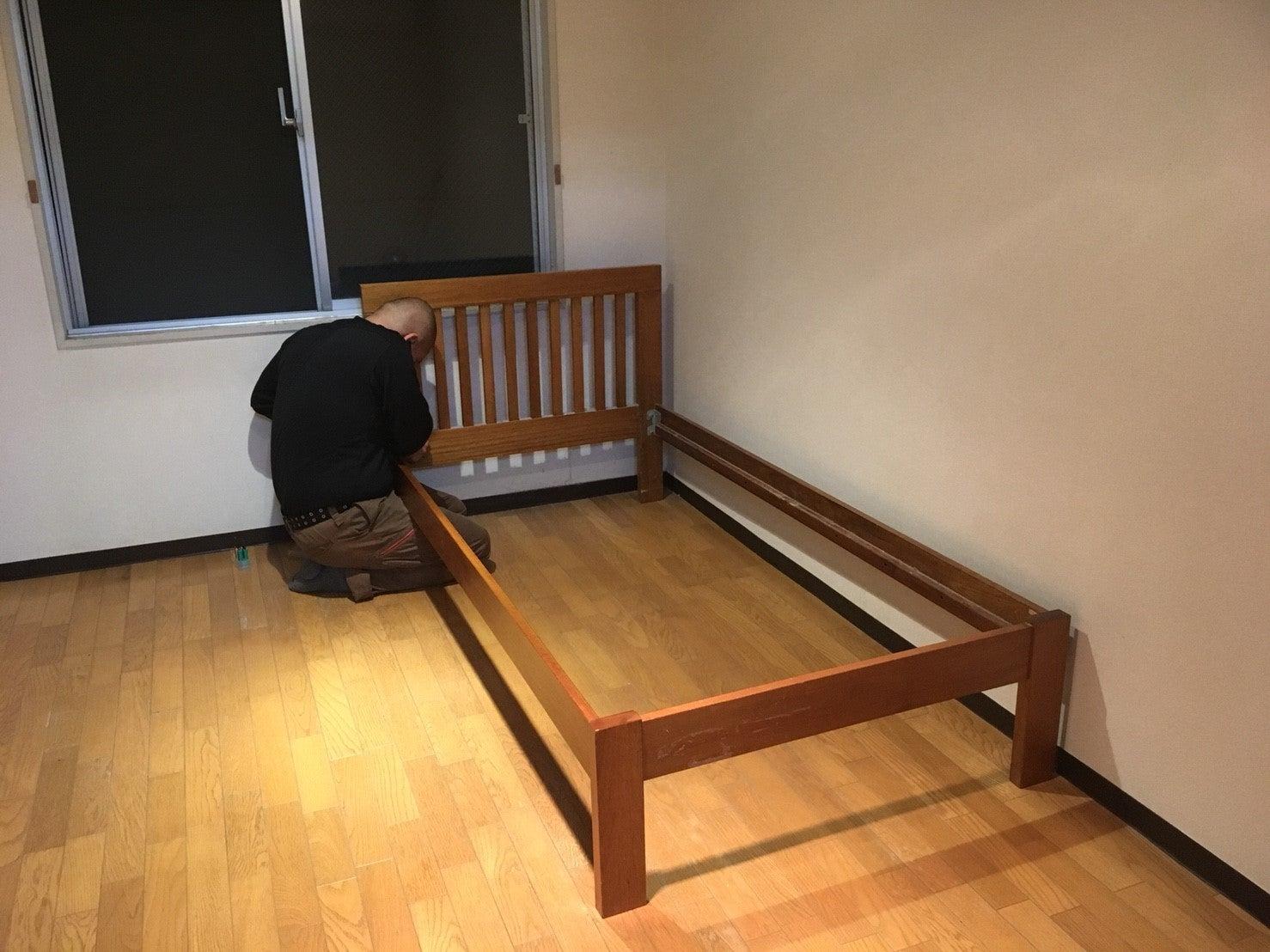 ベスト 素晴らしい ベッド 解体 | 9824