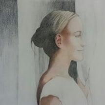 色鉛筆画 人物画