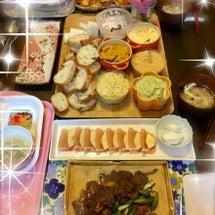 主人の誕生日パーティ…