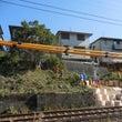 近鉄生駒線 復旧工事