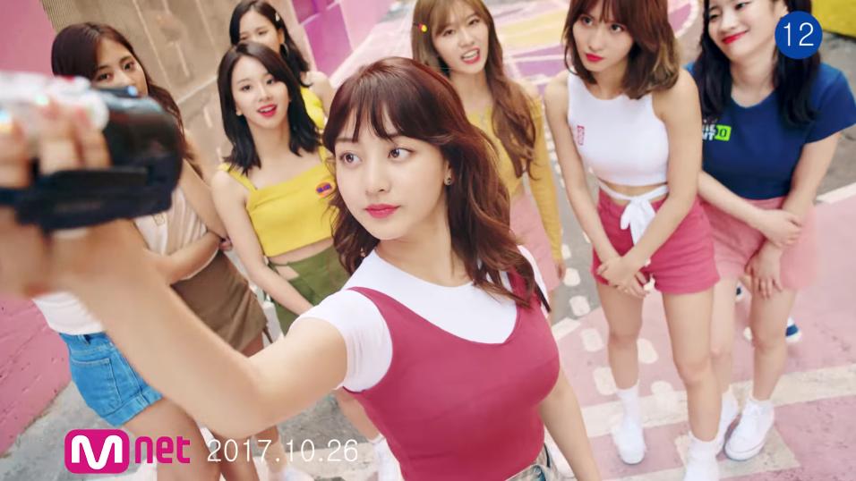 TWICEのメンバー(ナヨン、ジョンヨン、モモ、サナ、ジヒョ、ミナ、ダヒョン、チェヨン、ツウィ)らが10月30日にリリースする1stフルアルバム/正規1アルバム正規1