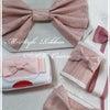大人ピンクでリボンデコ~M-StyleRibbonDST(デコ)コース~の画像