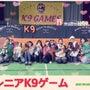 シニアK9ゲーム開催…