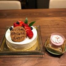 お誕生日会と1年記念…
