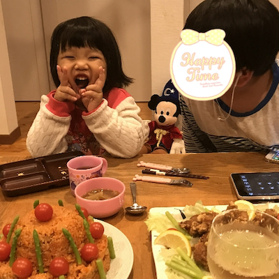 南大阪 堺市食物アレルギー対応バースデイケーキ情報あり 娘4歳のお誕生日パーティの記事に添付されている画像