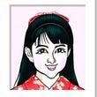 葵わかなさんの似顔絵…