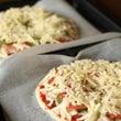 手作りピザを焼きまし…