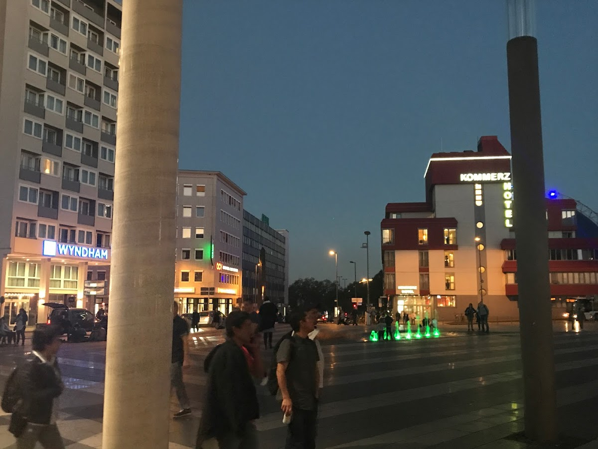 ドイツ新婚旅行日記①東京からフランクフルトからケルンまで