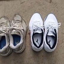 靴を二足買う