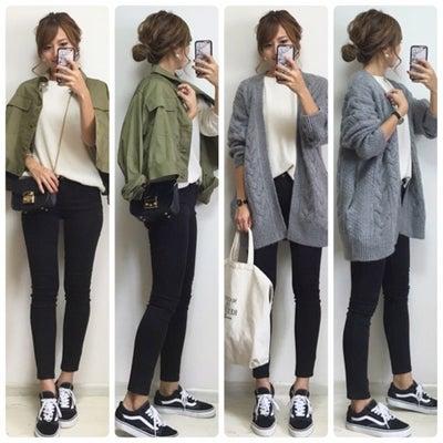 【ZARA】ほこりがつかない‼︎脚が細く見える黒スキニー♡の記事に添付されている画像