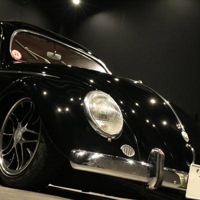 全塗装ソリッドブラック ボディー磨き&ガラスコーティング VW Type1 の記事に添付されている画像