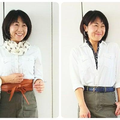 えっ!!!「耳を出すだけで!」骨格ストレートの方はぜひ☆の記事に添付されている画像