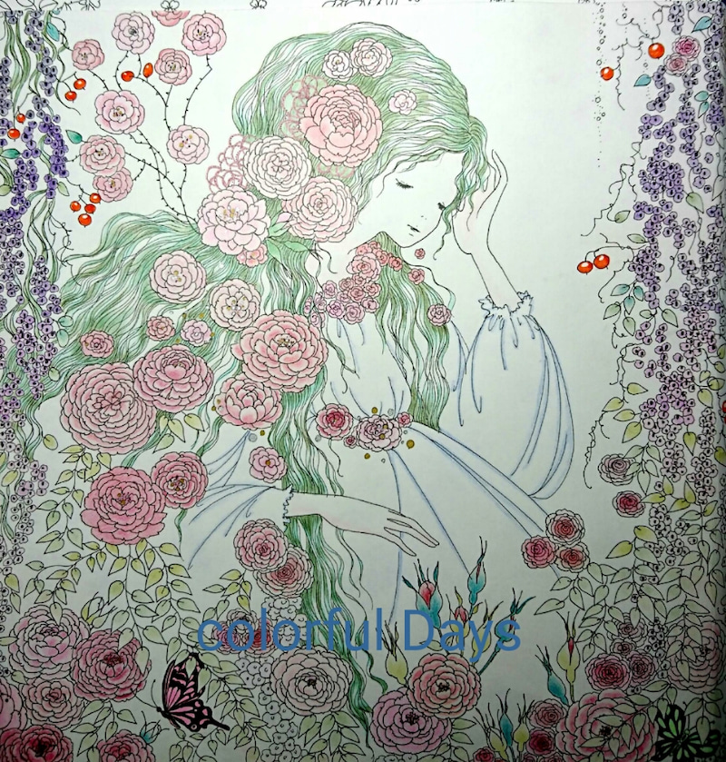 おとぎ話のぬり絵ブック7 眠れる森の美女 Colorful Deys