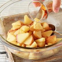 アップルパイはりんご…