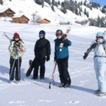 フランス語&スキー!…