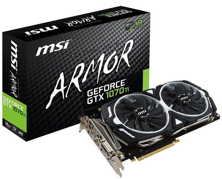 MSI GeForce GTX 1070 ARMOR 8G OC グラフィックスボード VD6083