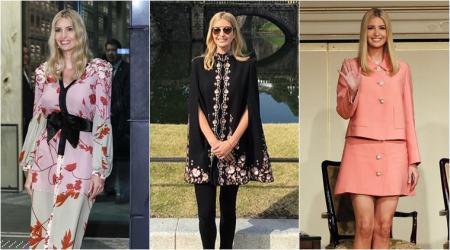 「イヴァンカ 来日 ファッション」の画像検索結果
