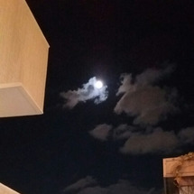 満月とスタート