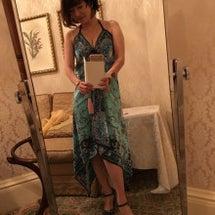 久々のドレス