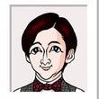 高橋一生さんの似顔絵…