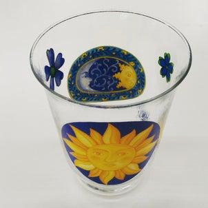 【レッスン作品】デコパージュ花瓶。の画像