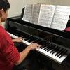 中学3年ピアノ男子君、月1でレッスンに来てくれてます。の画像