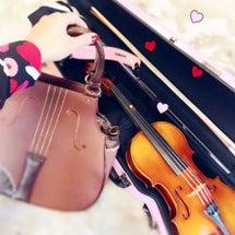 親子でヴァイオリン♡