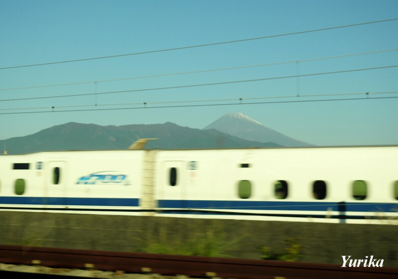 01新幹線と富士山