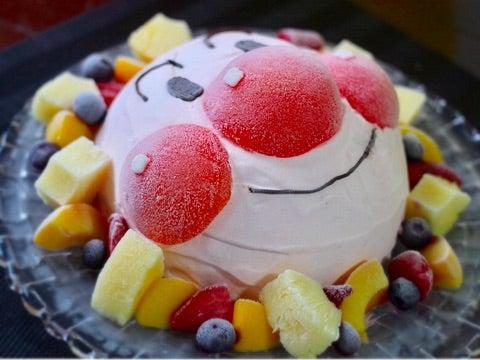 簡単♥アンパンマン立体アイスケーキの作り方♪