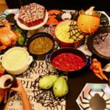 魔女の鍋と野菜おばけ…