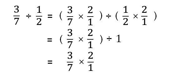 分数の割り算はなんで逆数を掛け...