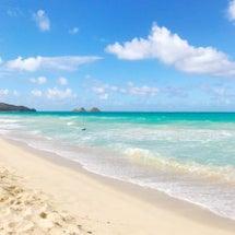 ハワイの美しいビーチ…