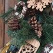 クリスマスドア飾り