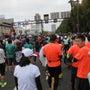 岡山マラソンです。